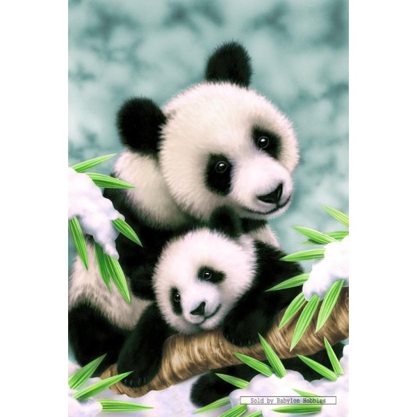 150 Pcs Panda Family By Schmidt Babylon Hobbies Puzzles