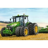 Jigsaw puzzle 100 pcs - Tractor 8270 with Double Tire - John Deere (by Schmidt)