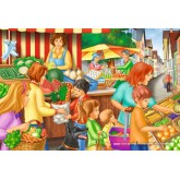 Jigsaw puzzle 60 pcs - Market day (by Schmidt)