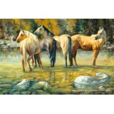 Jigsaw puzzle 1000 pcs - Horse Friends (by Schmidt)