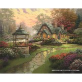 Jigsaw puzzle 1000 pcs - Cottage  - Thomas Kinkade (by Schmidt)