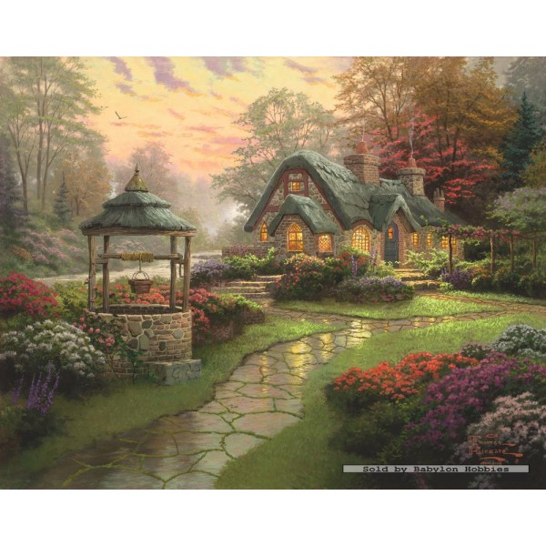1000 Pcs Cottage Thomas Kinkade By Schmidt Babylon