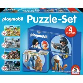 Jigsaw puzzle 60 pcs - Playmobil Set - Playmobil (by Schmidt)