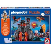 Jigsaw puzzle 100 pcs - Land of Dragons - Playmobil (by Schmidt)