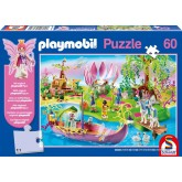 Jigsaw puzzle 60 pcs - World of Fairies - Playmobil (by Schmidt)