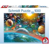 Jigsaw puzzle 1000 pcs - Outer Space (by Schmidt)