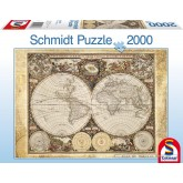 Jigsaw puzzle 2000 pcs - Historical map of the world (by Schmidt)