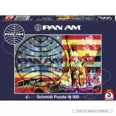 Jigsaw puzzle 500 pcs - Fly to New York - Pan Am (by Schmidt)