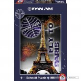 Jigsaw puzzle 500 pcs - The Eiffel Tower, Paris - Pan Am (by Schmidt)