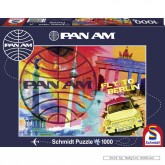 Jigsaw puzzle 1000 pcs - Fly to Berlin - Pan Am (by Schmidt)
