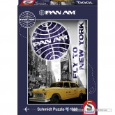 Jigsaw puzzle 1000 pcs - New York Taxi - Pan Am (by Schmidt)
