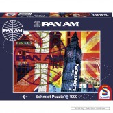 Jigsaw puzzle 1000 pcs - Fly to London - Pan Am (by Schmidt)