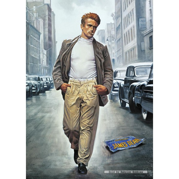 1000 Pcs Forever Young James Dean Renato Casaro By