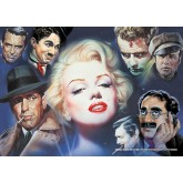 Jigsaw puzzle 1000 pcs - Marilyn Monroe and Friends - Renato Casaro (by Schmidt)