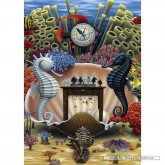 Jigsaw puzzle 1000 pcs - Playing Chess in the sea - Jacek Yerka (by Schmidt)