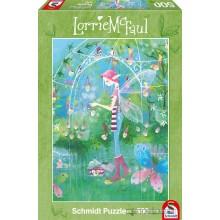 Jigsaw puzzle 500 pcs - The Fairy Garden - Lorrie Mc Faul (by Schmidt)