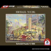 Jigsaw puzzle 1000 pcs - Greyhound - Michael Young (by Schmidt)