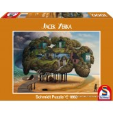 Jigsaw puzzle 1000 pcs - Low Tide - Jacek Yerka (by Schmidt)