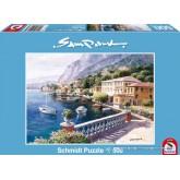 Jigsaw puzzle 500 pcs - Villa on the Lake of Como - Sam Park (by Schmidt)