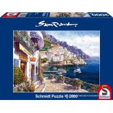 Jigsaw puzzle 2000 pcs - Afternoon in Amalfi - Sam Park (by Schmidt)