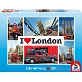 Jigsaw puzzle 1000 pcs - London - I Love ... (by Schmidt)