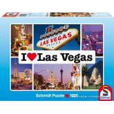 Jigsaw puzzle 1000 pcs - Las Vegas - I Love ... (by Schmidt)