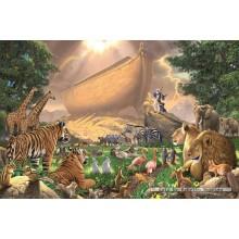 Jigsaw puzzle 1500 pcs - Noah Ark - The Gathering (by Jumbo)