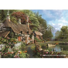 Jigsaw puzzle 1000 pcs - House at the Waterside (by Jumbo)