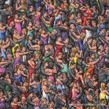 Jigsaw puzzle 625 pcs - Ballroom Dancing - James Milroy (by Jumbo)