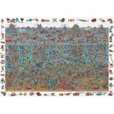 Jigsaw puzzle 300 pcs - Deep Sea Divers - Where is Wally (by Jumbo)