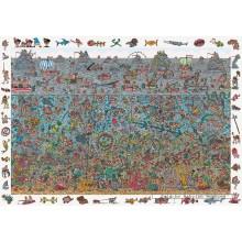 Jigsaw puzzle 300 pcs - Deep Sea Divers - Where is Wally (by Jumbo)