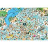Jigsaw puzzle 3000 pcs - Whacky Water World - Jan van Haasteren (by Jumbo)