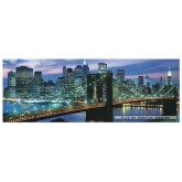 1000 pcs - Brooklyn Bridge, New York - Panorama (by Educa)