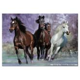 1000 pcs - Running Horses (by Educa)