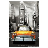 Jigsaw puzzle 1000 pcs - Taxi Nr 1, New York  - Miniature (by Educa)
