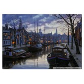 1500 pcs - Amsterdam in the evening - Eugene Lushpin (by Educa)