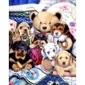 300 pcs - Puppy Party - Jenny Newland (by Masterpieces)