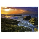 1500 pcs - Sunset on the rocks (by Educa)