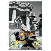 500 pcs - Parc Güell, Barcelona - Black and White (by Educa)