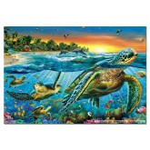 500 pcs - Sea turtles (by Educa)