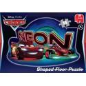 15 pcs - Disney Pixar Cars Neon Shaped - Floor puzzles (by Jumbo)