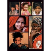 Jigsaw puzzle 1500 pcs - Faces of the Children of the World (by Nathan)