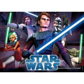Jigsaw puzzle 100 pcs - Fighting Jedi - Star Wars (by Nathan)