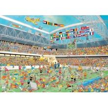Jigsaw puzzle 1000 pcs - Football Crazy! - Jan van Haasteren (by Jumbo)