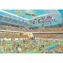 2000 pcs - Football Crazy! - Jan van Haasteren (by Jumbo)