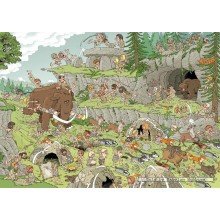 Jigsaw puzzle 500 pcs - Stone Age - Pieces of History (by Jumbo)