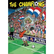 Jigsaw puzzle 1000 pcs - Breast Throw - The Champions (by Puzzelman)