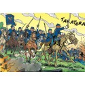 1000 pcs - Attaque - The Bluecoats (by Puzzelman)
