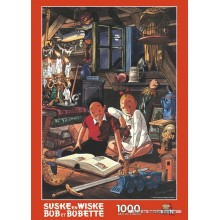 Jigsaw puzzle 1000 pcs - Attic - Willy and Wanda (by Puzzelman)