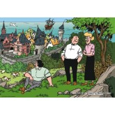 Jigsaw puzzle 1000 pcs - Castle - Willy and Wanda (by Puzzelman)